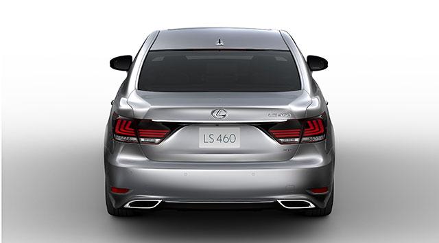 2013 Lexus LS 460 Rear