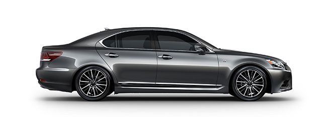 2013 Lexus LS Side Profile
