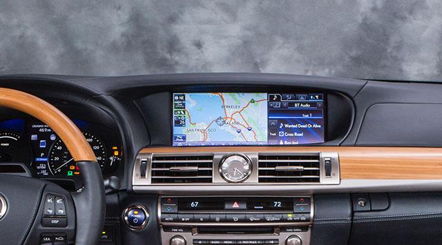 2013 Lexus LS Interior Navigation