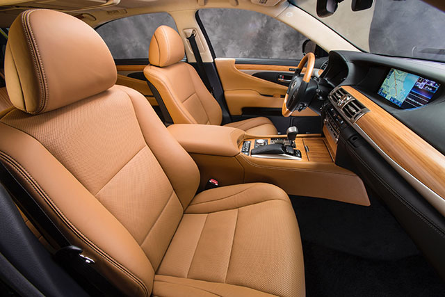 2013 Lexus LS Interior Profile