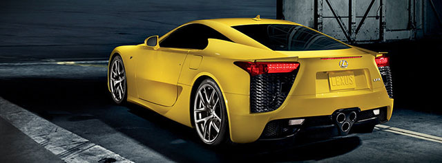 Lexus LFA Contest