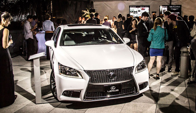 2013 Lexus LS 460 F SPORT Ultra White