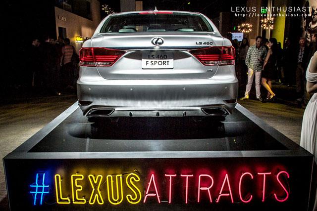 2013 Lexus LS F SPORT in Liquid Platinum