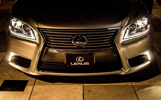 2013 Lexus LS Headlights