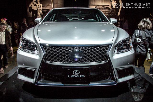 Lexus LS Mesh Spindle Grille