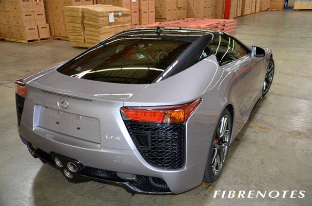 Lexus LFA Bicolor Rear