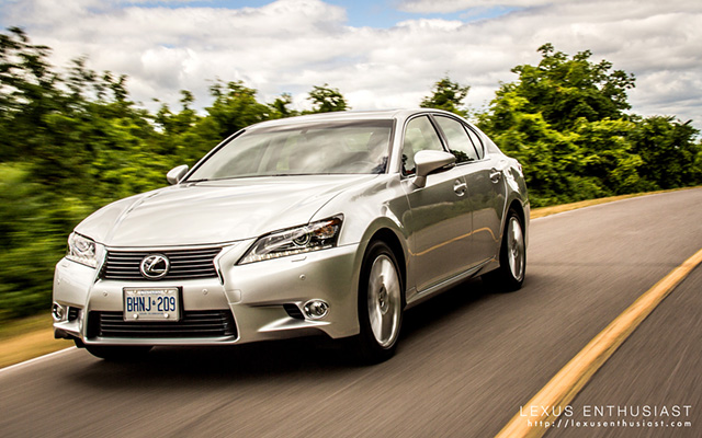 2013 Lexus GS Summer Road Trip Desktop Wallpaper 1