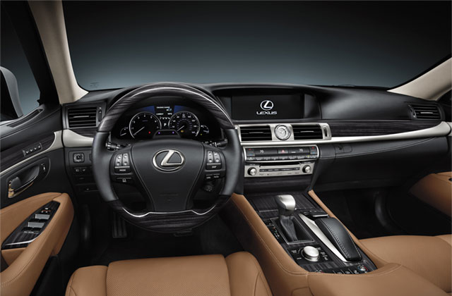 Lexus LS Shimamoku trim
