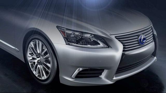 2013 Lexus LS Exterior Design