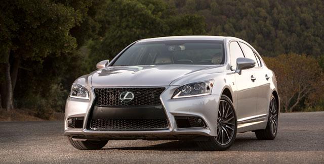 2013 Lexus LS Preview