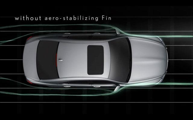 2013 Lexus LS Aero Fins None