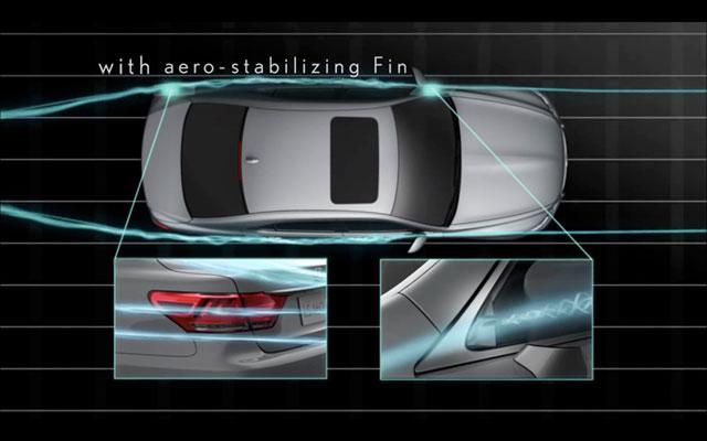 2013 Lexus LS Aero Fins