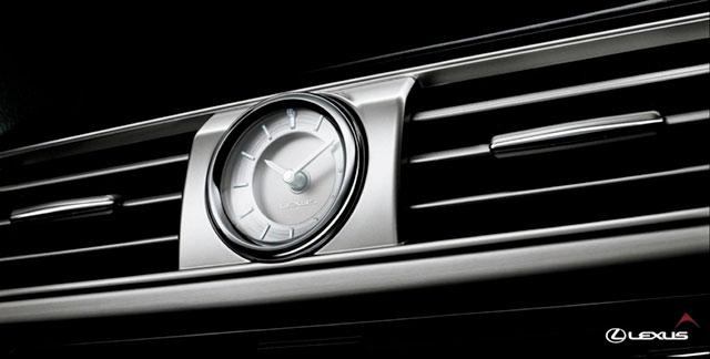 2013 Lexus LS Analog Clock