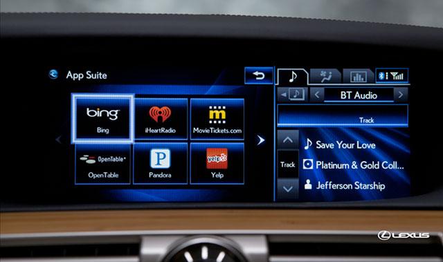 2013 Lexus LS App Suite