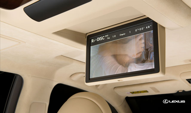 2013 Lexus LS Blue-Ray Player