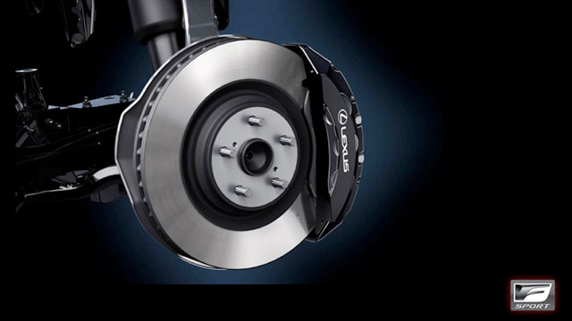 2013 Lexus LS F SPORT Brakes