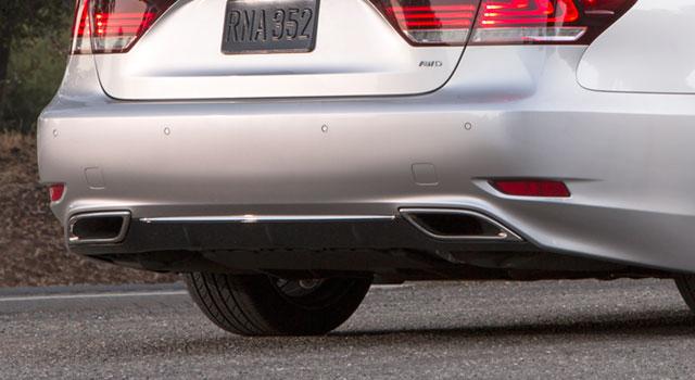 2013 Lexus LS F SPORT Diffuser