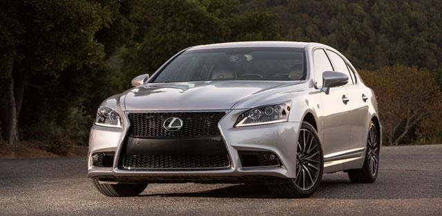 2013 Lexus LS F SPORT Front Grille