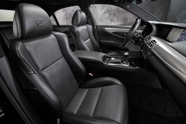 2013 Lexus LS F SPORT Interior Seats