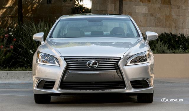 2013 Lexus LS Front Grille