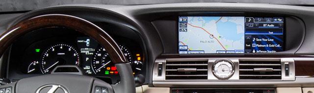 2013 Lexus LS Interior Display Zone