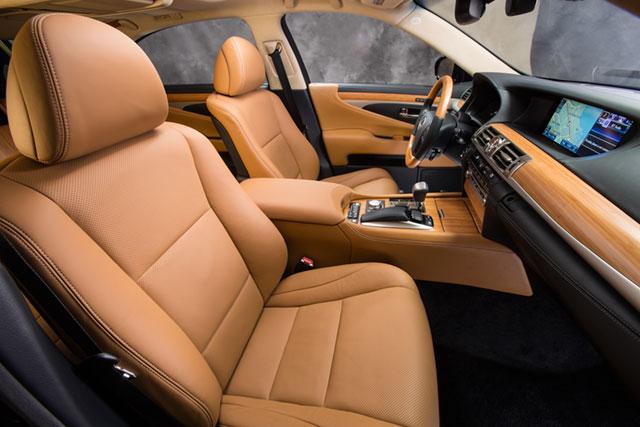 2013 Lexus LS Interior Seats