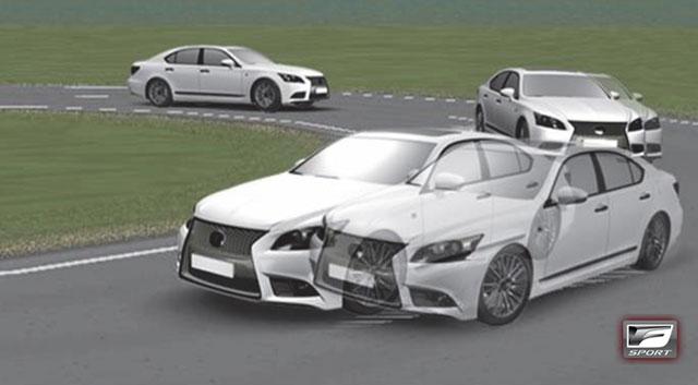 2013 Lexus LS F SPORT LSD