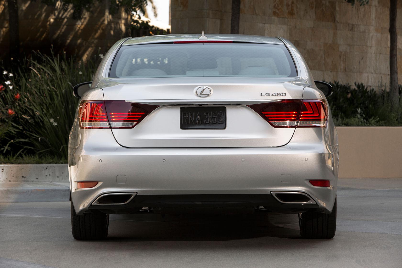 2013 Lexus LS Rear & 2013 Lexus LS Preview | Lexus Enthusiast