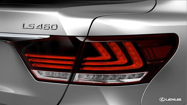 2013 Lexus LS Tail Light