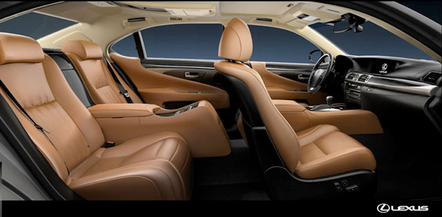 2013 Lexus LS Rear Seat Package
