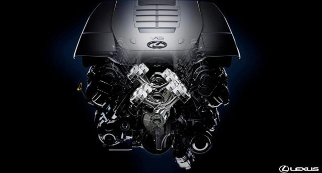 2013 Lexus LS 460 Engine