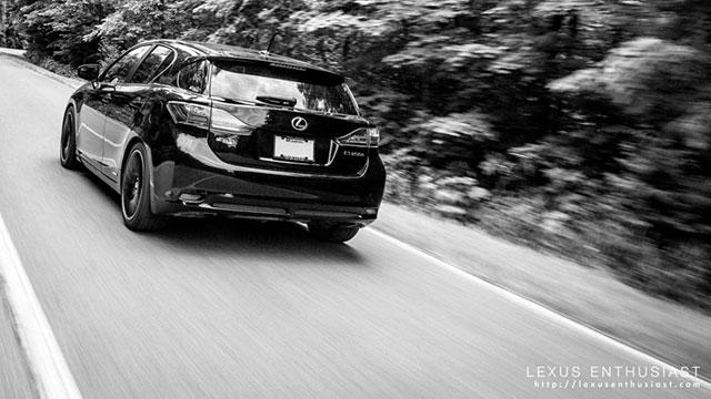2012 Lexus CT 200h in Obsidian