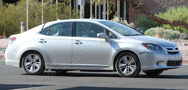 Lexus HS Hydrogen Fuel-Cell Prototype