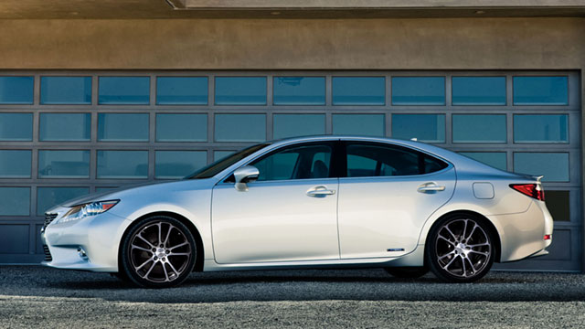 2013 Lexus ES 300h CEC Wheels Again