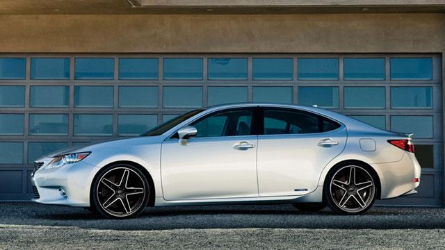 2013 Lexus ES 300h CEC Wheels