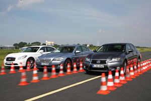 Comparison: Lexus GS 450h vs BMW ActiveHybrid5 vs Infiniti M35h