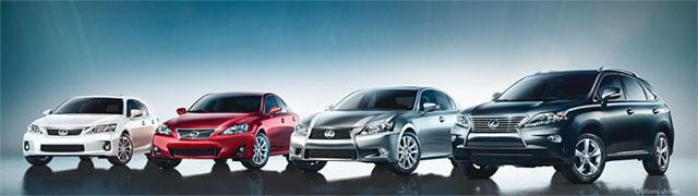 2013 Lexus Lineup