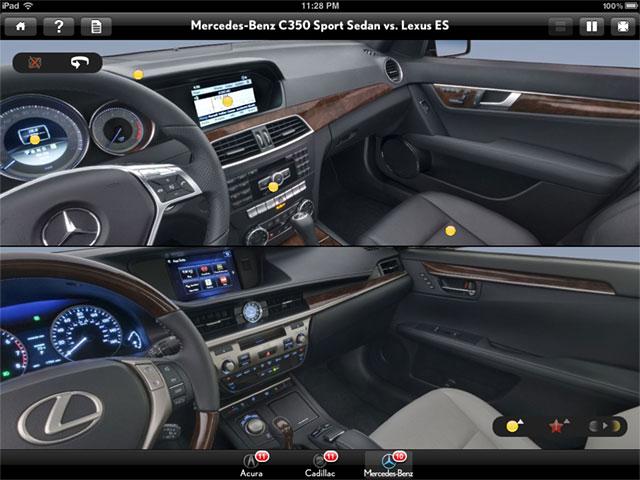 2013 Lexus ES 350 Vs Mercedes C350 Sport