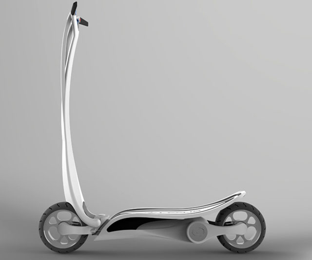 Lexus Electric Scooter side profile