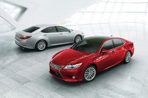 2013 Lexus ES 350 & ES 300h