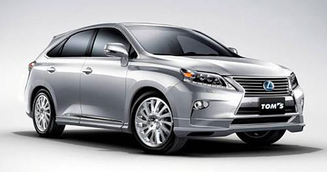 2013 Lexus RX with TOM's Body Kit