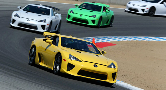 2013 Lexus LFA Owners Meet
