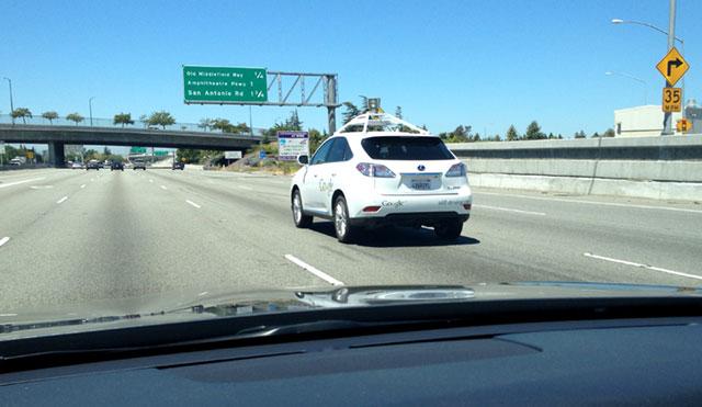 Lexus RX 450h Self Driving Car