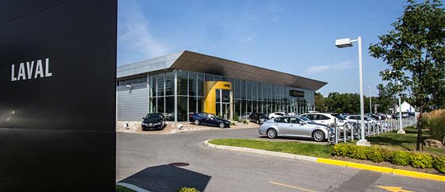Lexus Laval Visit