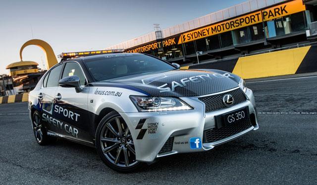 Lexus Gs 350 F Sport Pace Car In Australia Lexus Enthusiast