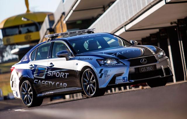 Lexus GS Pace Car Australia