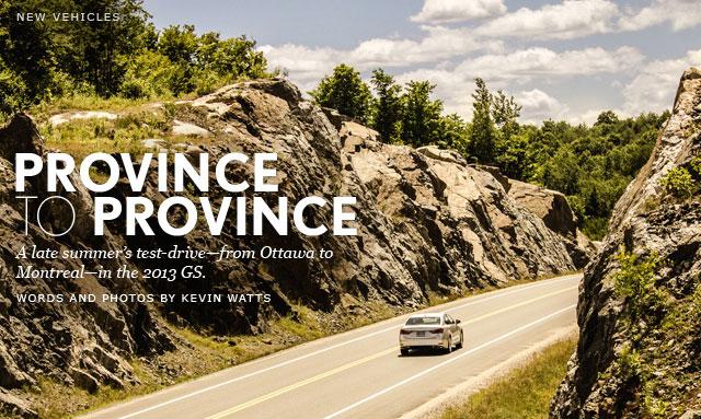 2013 Lexus GS Summer Road Trip
