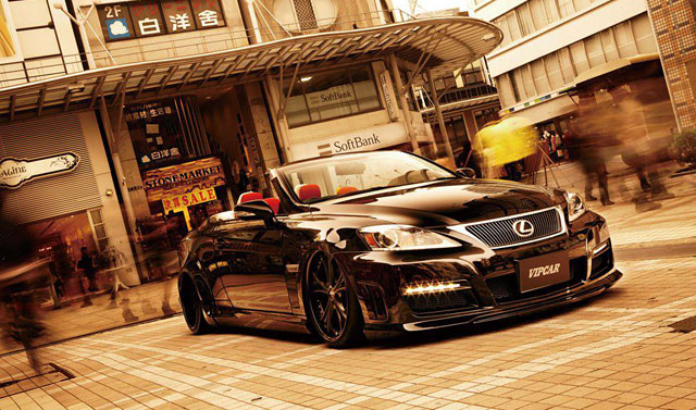 Lexus IS Convertible with Aimgain Kit by VIPCar Magazine