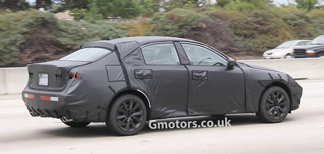2014 Lexus IS Rear