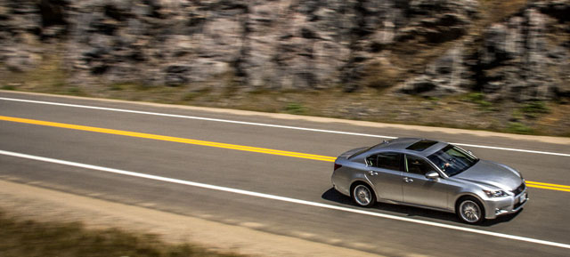 2013 Lexus GS 350 AWD on a Road Trip